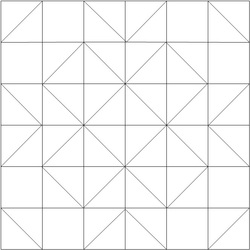 Wedding Bouquet Quilt Square Pattern